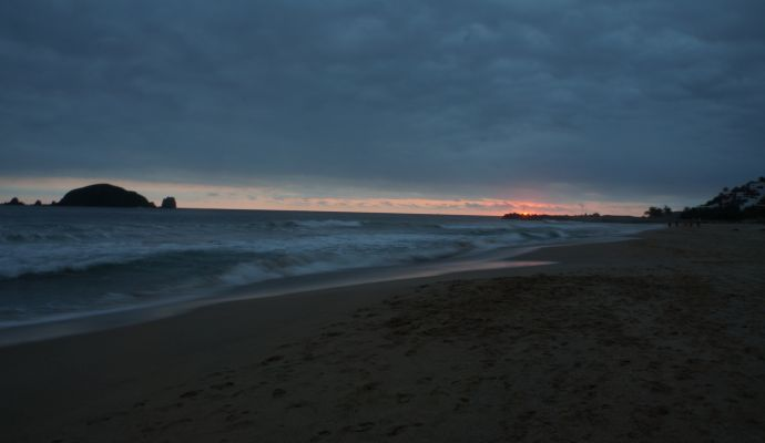 Atardecer Playa Escollera