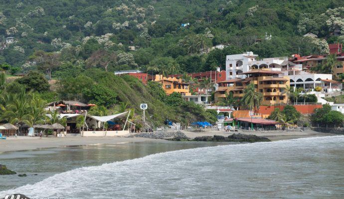 Las Olas De Playa La Madera Ixtapa Zihuatanejo