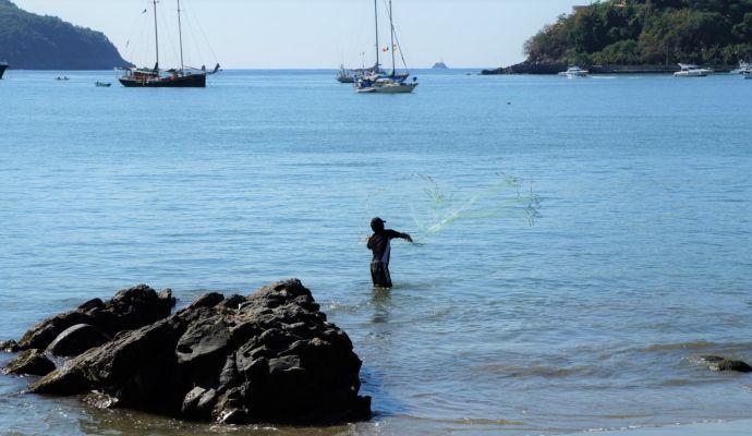 Pescando Lamadera