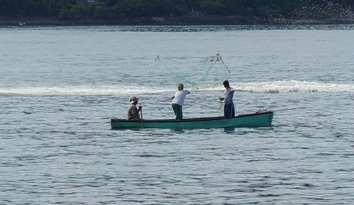 Pescadores En La Bahia De Zihuatanejo