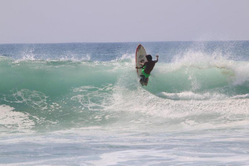 Surfista Pablo Guerrero