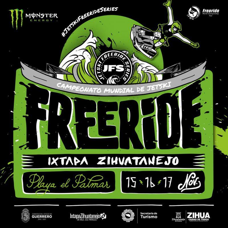 Campeonato Mundial de Jetski | Freeride Ixtapa Zihuatanejo