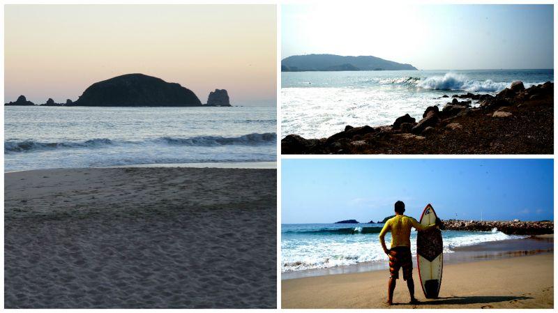 Surf Escollera Ixtapa