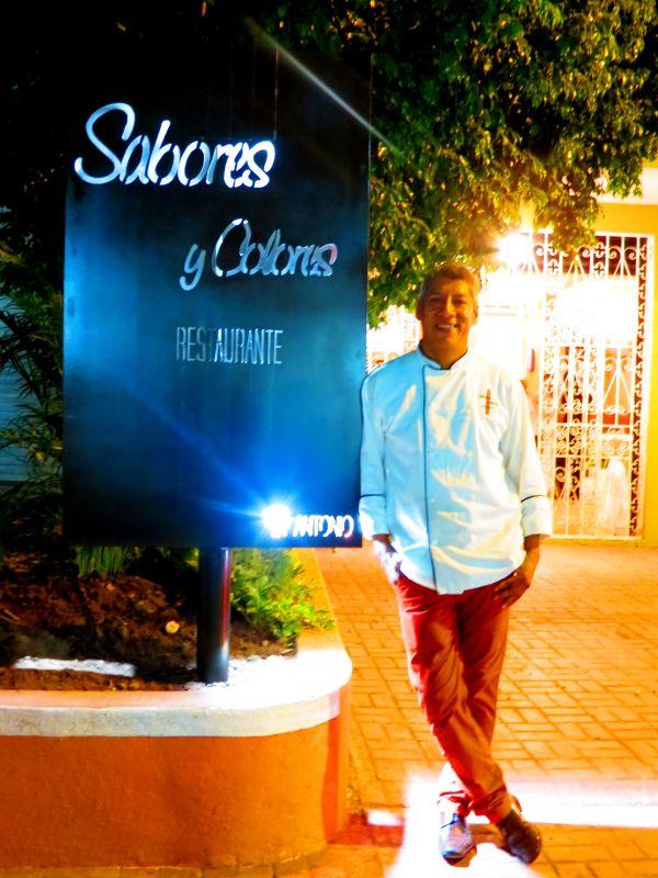 Chef Antonio Giles