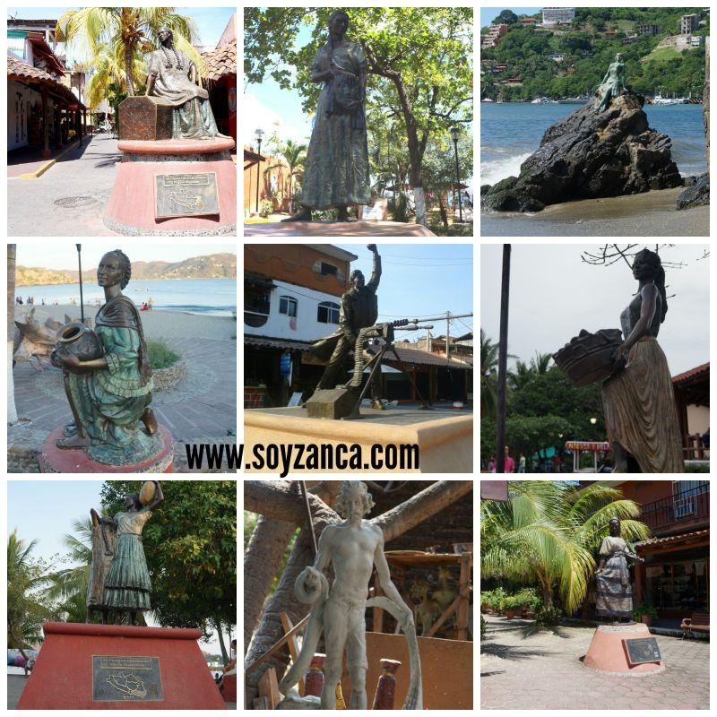 Esculturas de Zihuatanejo