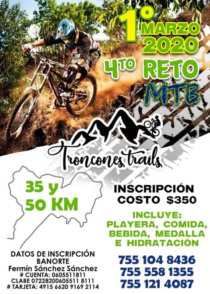 4o Reto MTB Troncones Trails 2020